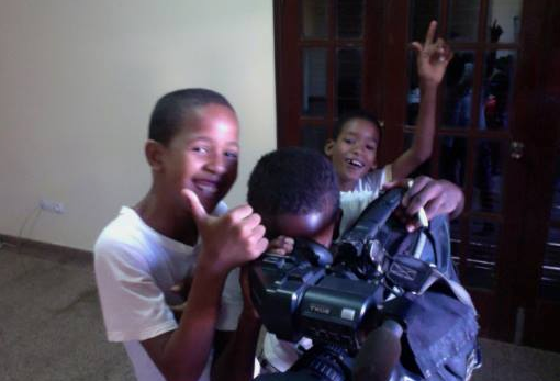 By day 2, our boys were taking over their cameras! :)